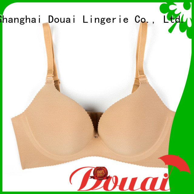 Douai seamless non padded bra design for madam