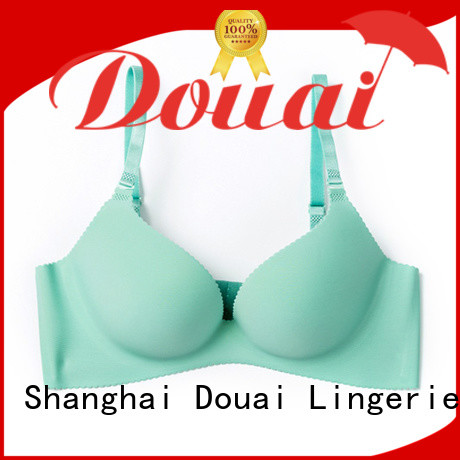 Douai durable seamless push up bra directly sale for ladies