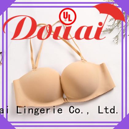 Douai cotton front button bra design for madam