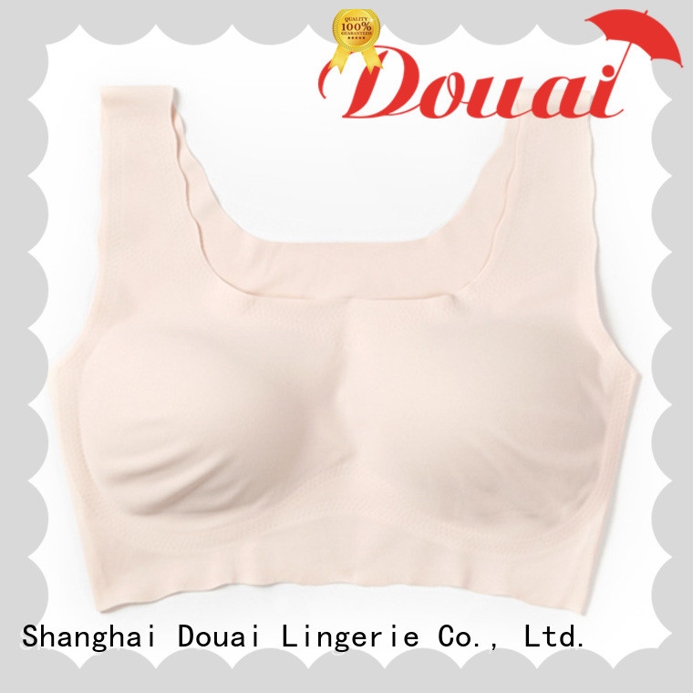 seamless padded bra top factory price for hotel