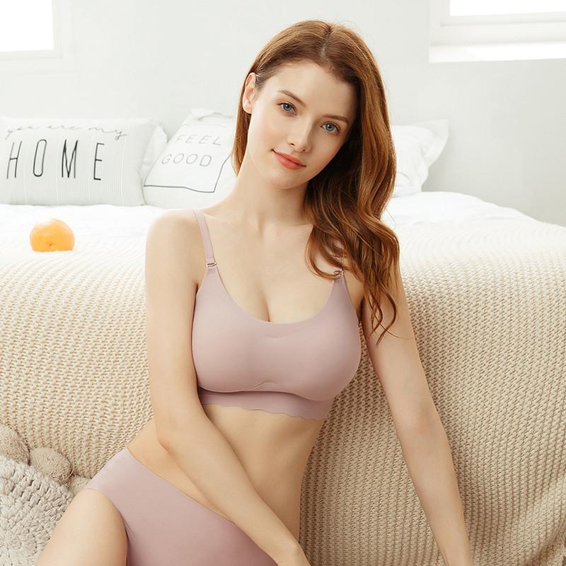 High quality Women Push Up Bra Sexy Seamless Wire Free Underwear sex lingerie