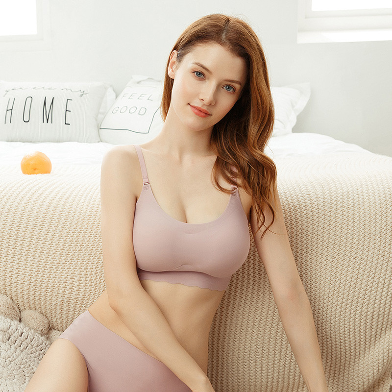 High quality Women Push Up Bra Sexy Seamless Wire Free Underwear sex lingerie