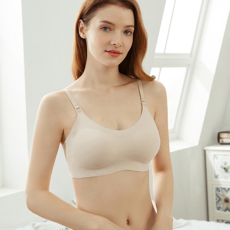 flexible seamless wireless bra supplier for home