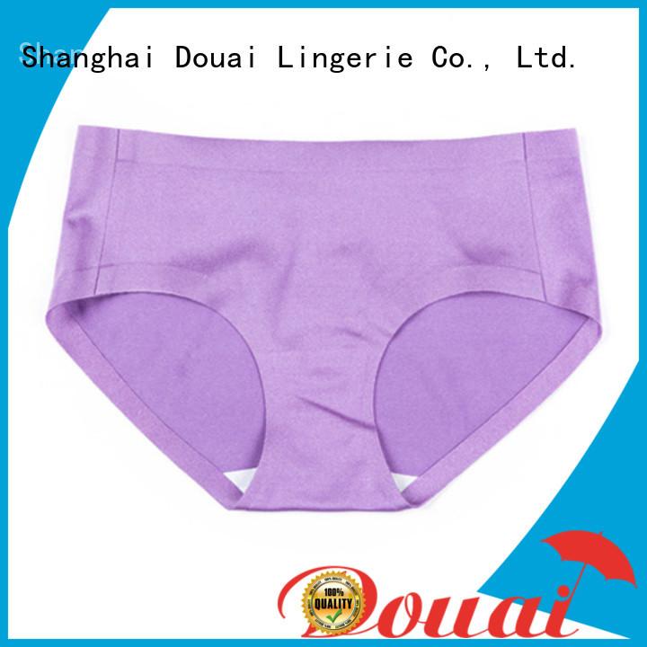 Douai nude seamless underwear wholesale for lady