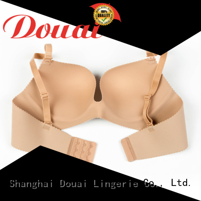 Douai cotton seamless bra wholesale for madam