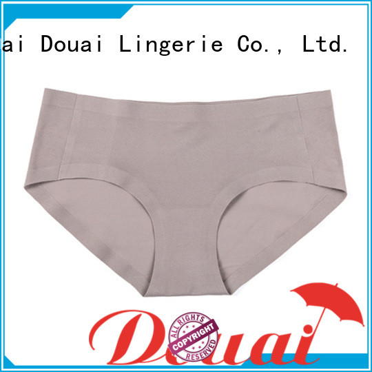 Douai comfortable seamless underwear factory price for women