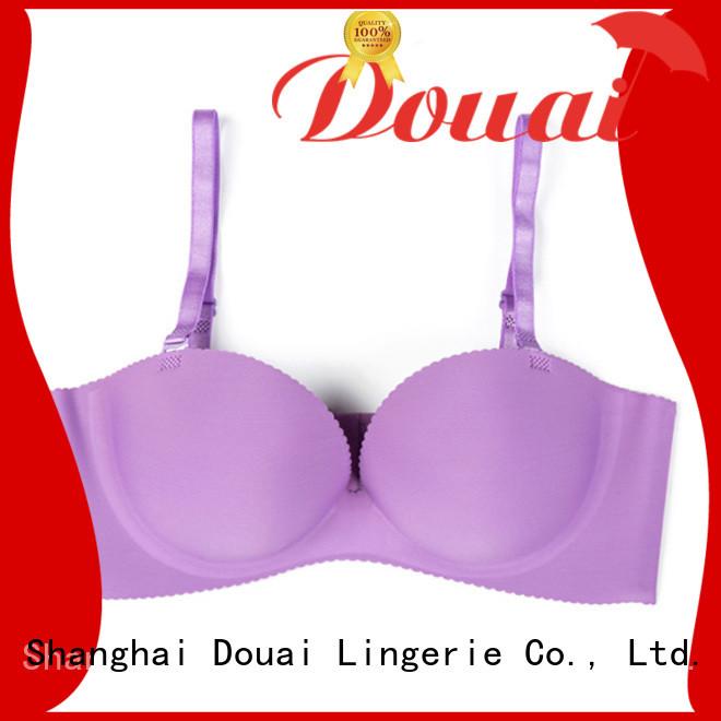 Douai soft half size bras factory for beach
