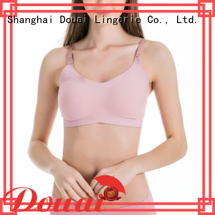Douai detachable strap bra top factory price for bedroom
