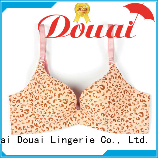 Douai comfortable full cup push up bra manufacturer for ladies