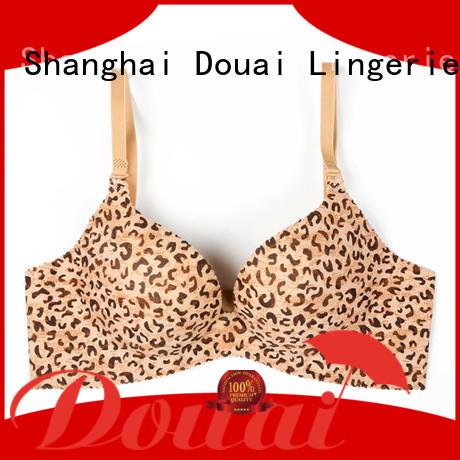 Douai cotton seamless bra design for ladies
