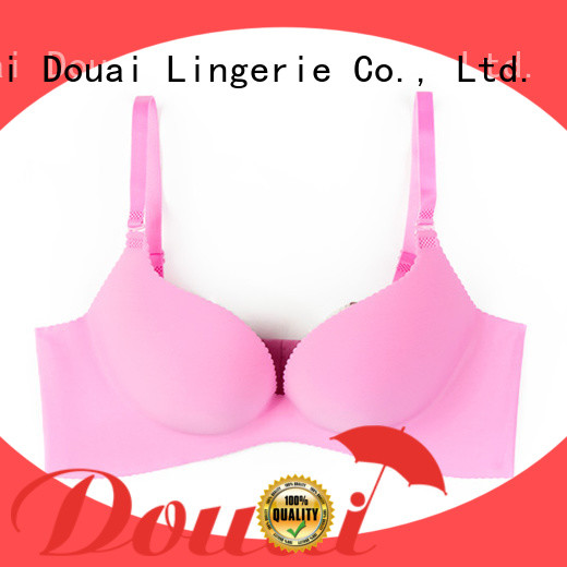 Douai fancy perfect coverage bra supplier for ladies