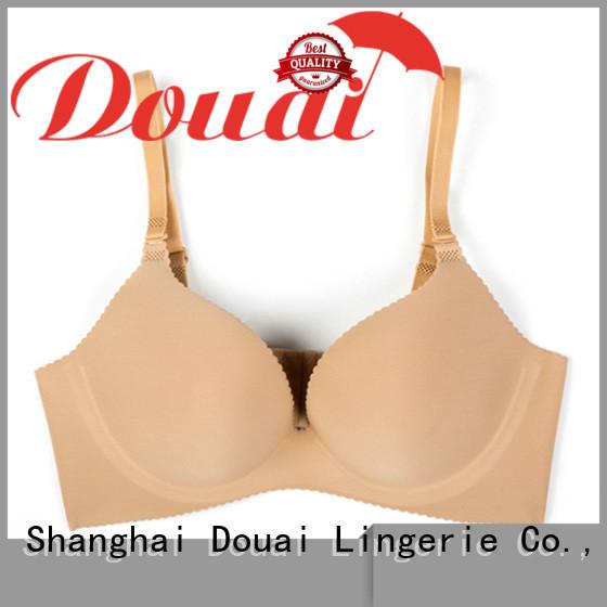 Douai mordern seamless push up bra wholesale for ladies
