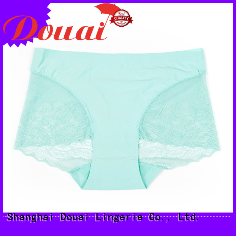 Douai high quality sexy lace underwear at discount for women