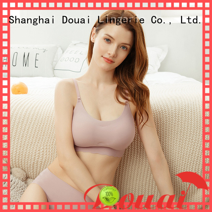 Douai seamless camisole bra factory price for bedroom