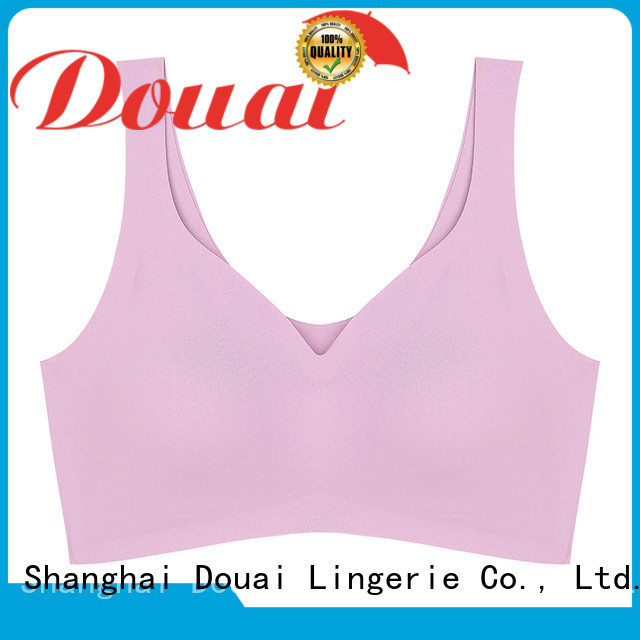 Douai hot yoga bra supplier for hiking