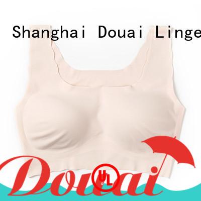 Douai flexible best seamless support bra for home