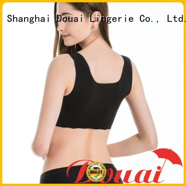 Douai soft good sports bras supplier for yoga
