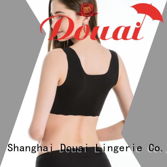 Douai womens gym bra factory price for yoga