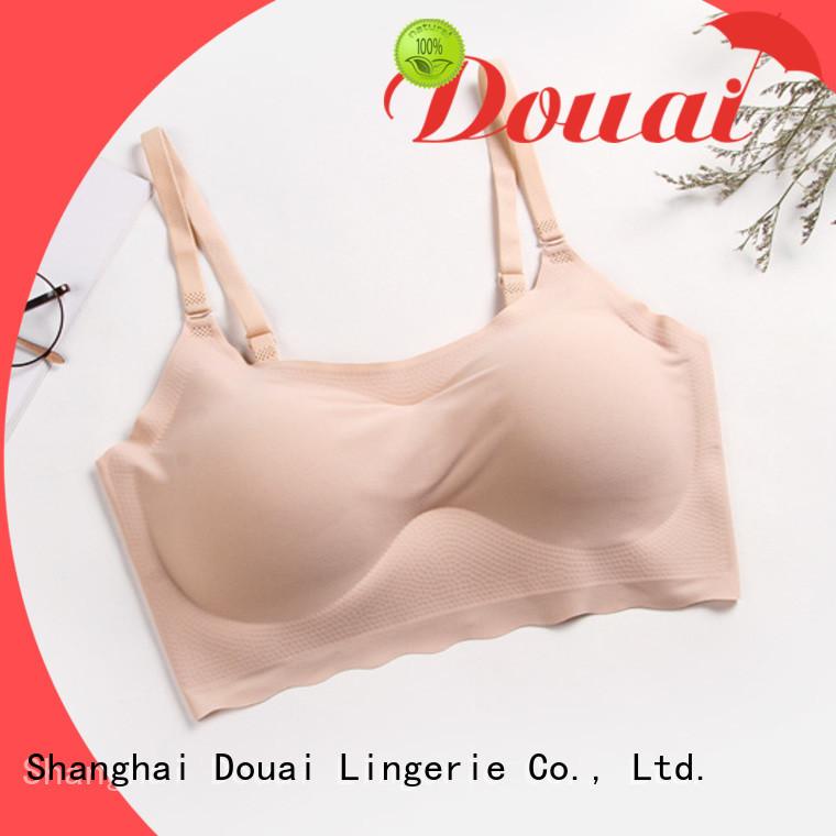 Douai flexible seamless comfort bras supplier for hotel