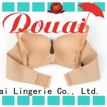 Douai simple seamless cup bra wholesale for madam