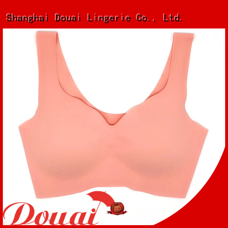 Douai light high support sports bra factory price for yoga