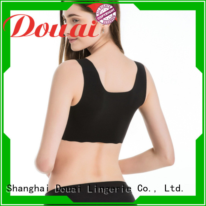 Douai soft most supportive sports bra supplier for sport
