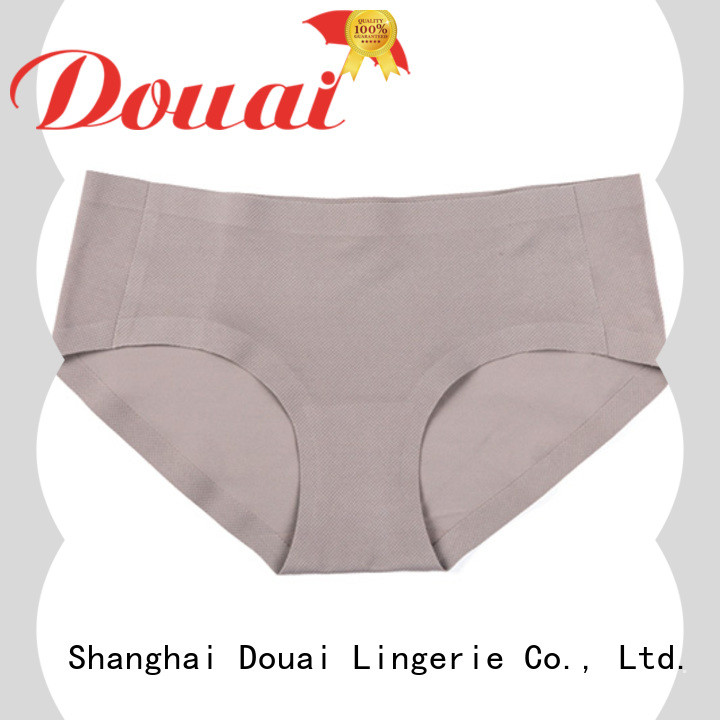 Douai girls seamless underwear wholesale for lady