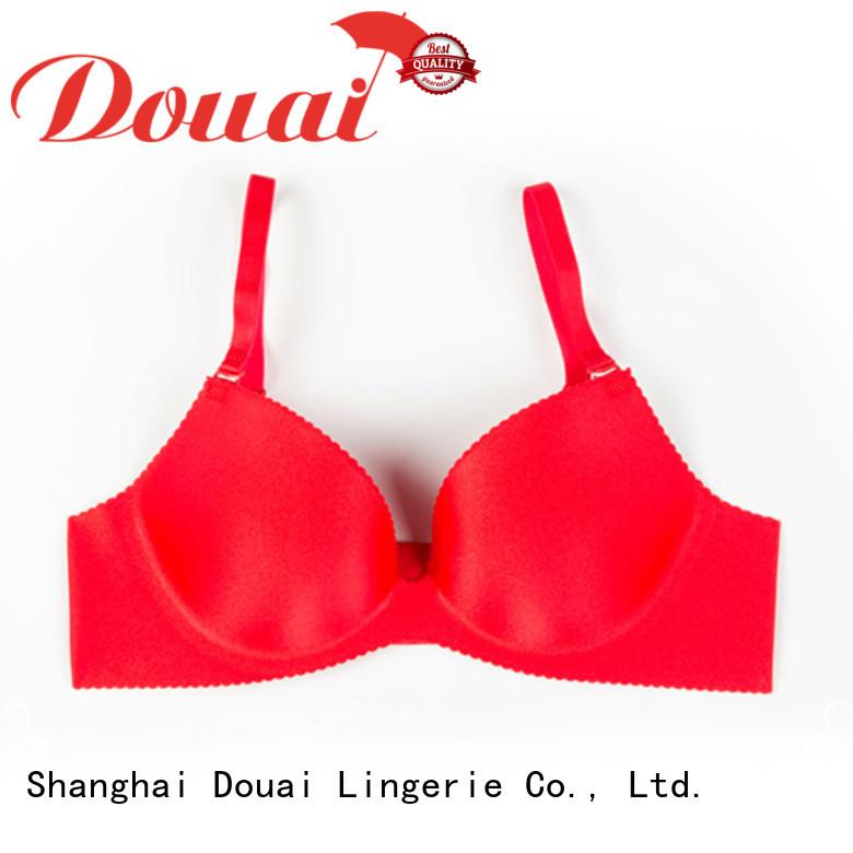 Douai simple seamless push up bra on sale for ladies