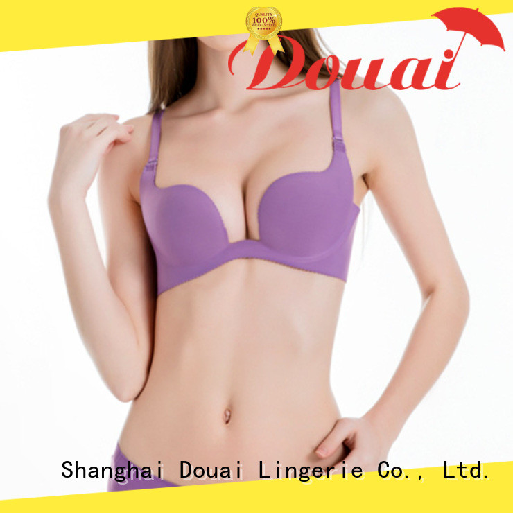 Douai deep u plunge bra series for wedding