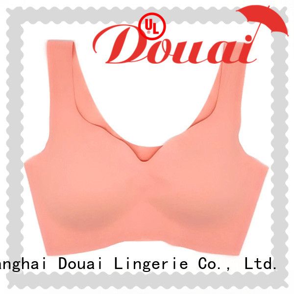 Douai thin yoga bra top personalized for sport