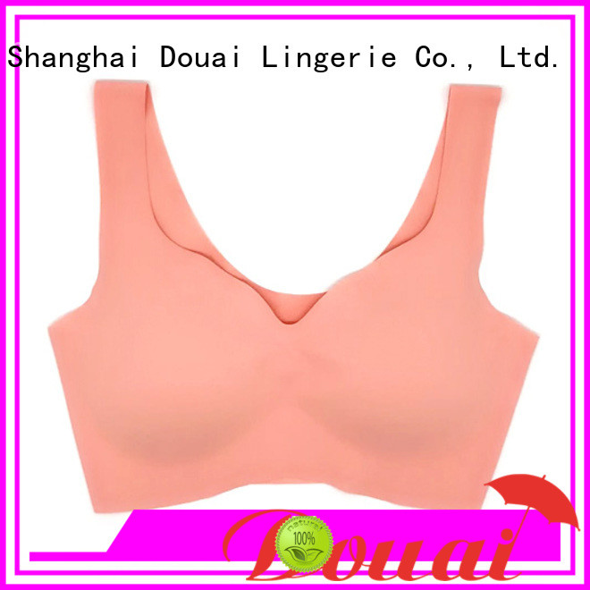 Douai low impact sports bra wholesale for sking