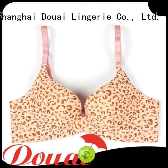 Douai professional full coverage push up bra on sale for girl