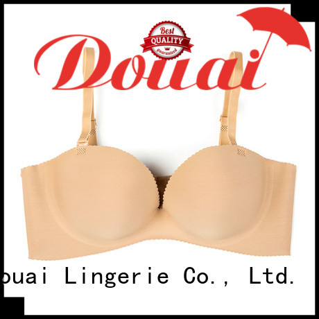 Douai healthy half cup padded bra with good price for party