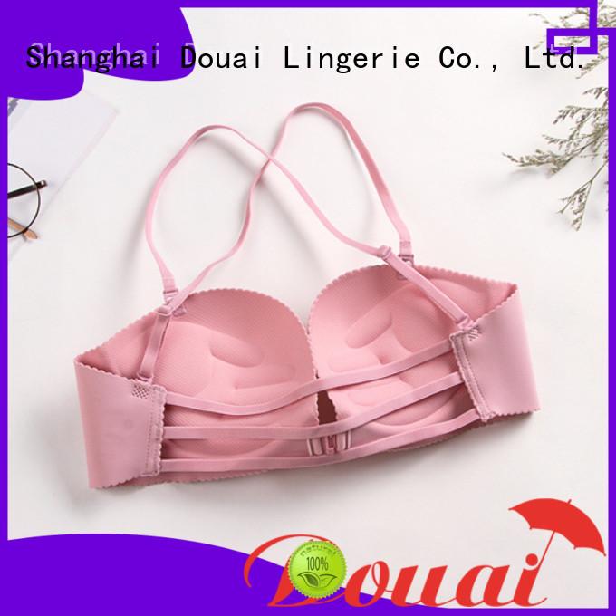 Douai cotton front buckle bra design for women