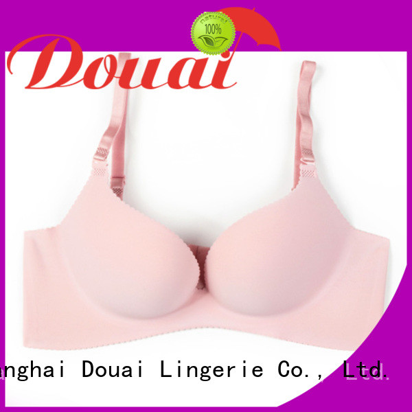 breathable push up bra set customized for ladies