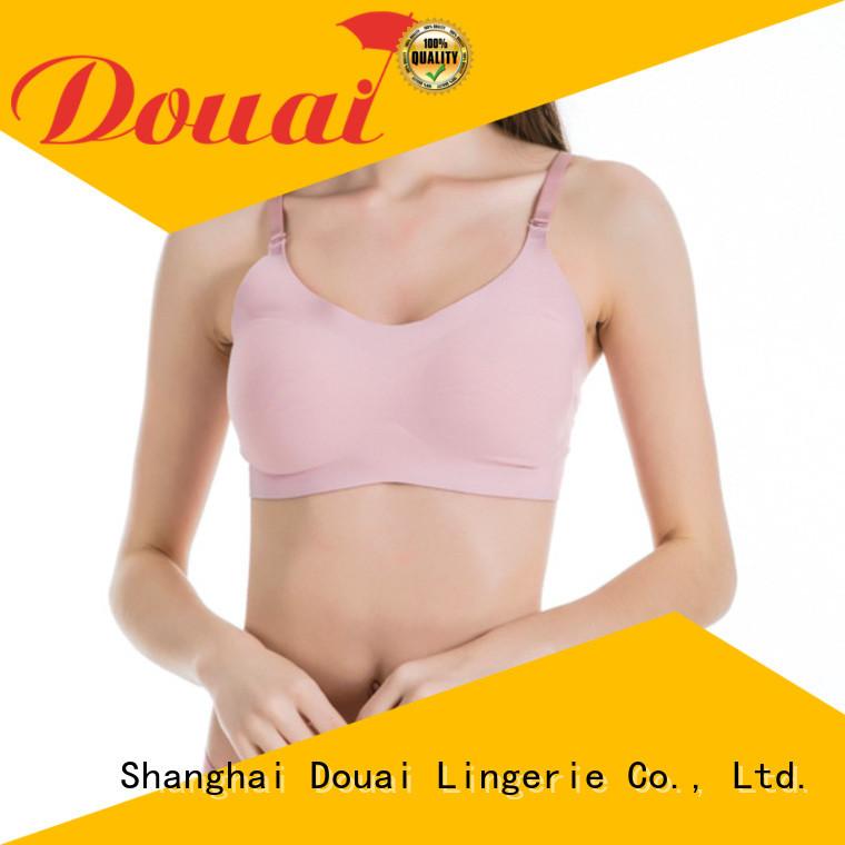 flexible crop top bra supplier for bedroom