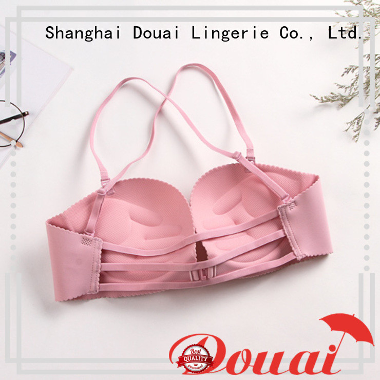 convenient front clasp bralette directly sale for madam