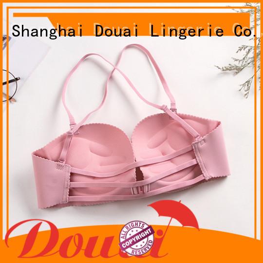 Douai convenient front lock bra design for madam