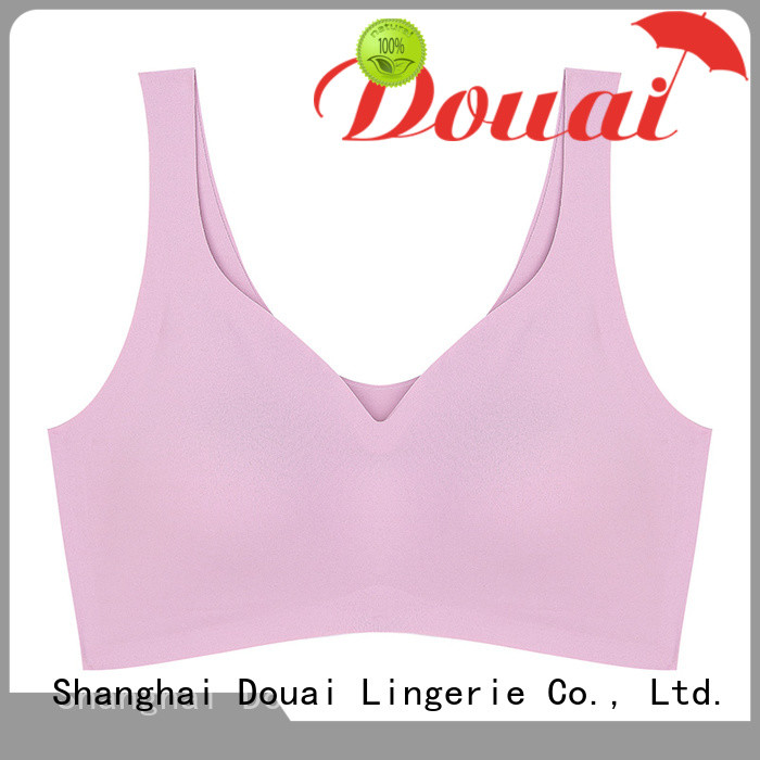 Douai light low impact sports bra wholesale for yoga