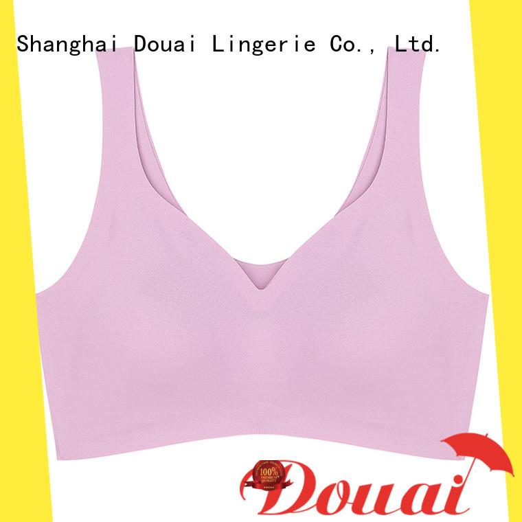 Douai thin yoga sports bra personalized for sport