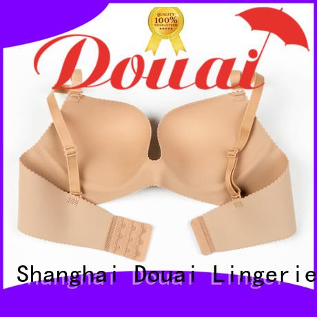 Douai attractive cotton seamless bra on sale for ladies