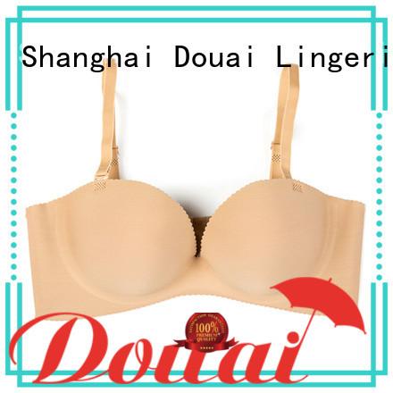 Douai skin-fridenly half-cup bra design for wedding