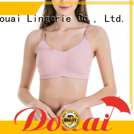 Douai seamless nude seamless bra factory price for hotel