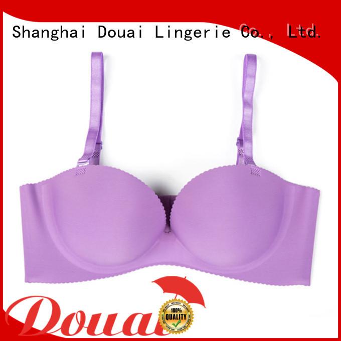 Douai healthy half-cup bra factory for dress