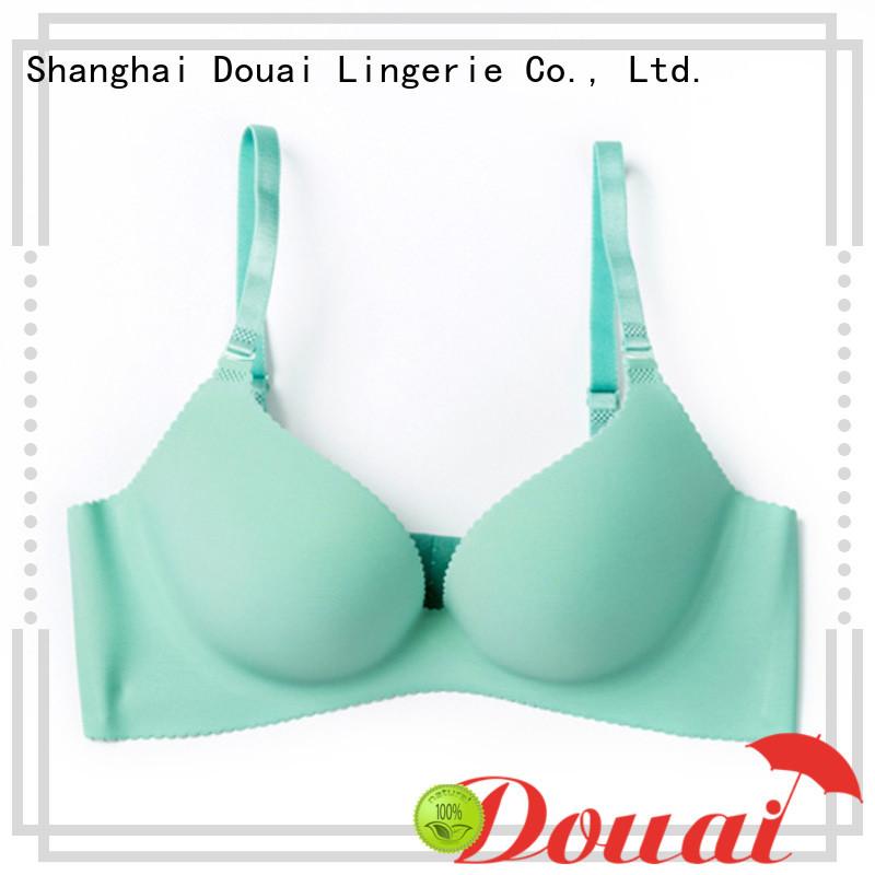 Douai attractive seamless push up bra wholesale for ladies