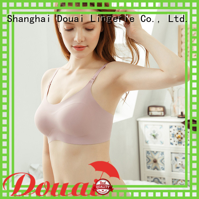 Douai flexible soft bra wholesale for hotel