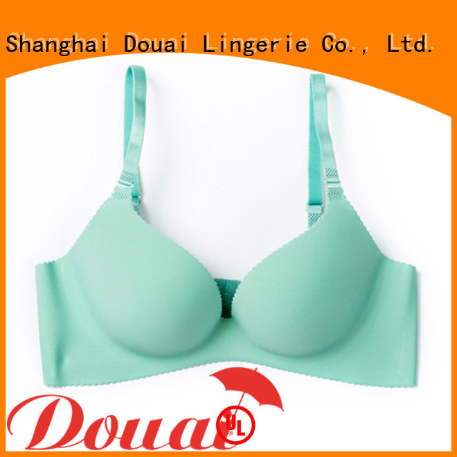 Douai cotton seamless bra design for madam