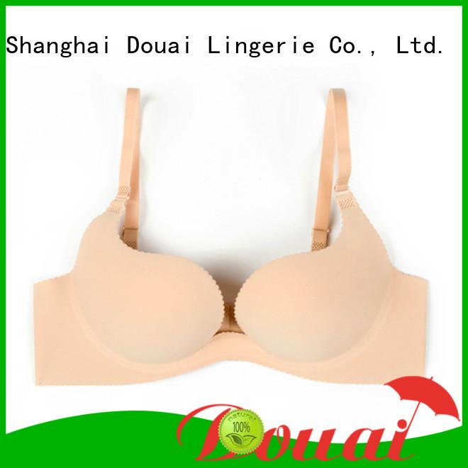 Douai colorful padded u plunge bra for beach