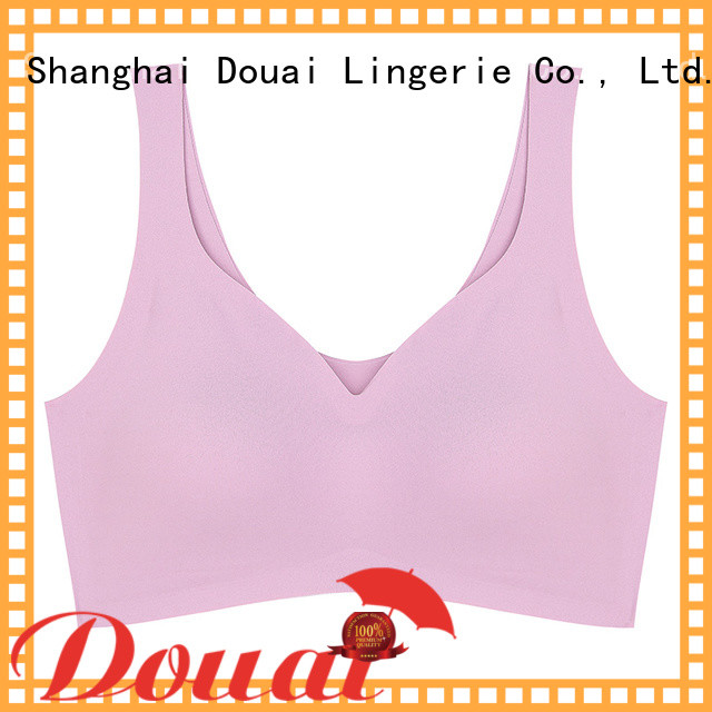 Douai light yoga bras for large breasts wholesale for hiking