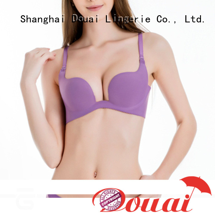 Douai deep cut bra customized for beach